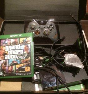 Xbox One special 1 tb+GTA 5