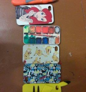 Чехлы для iphone4 4s