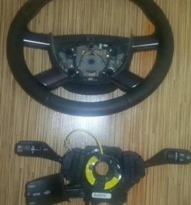 Руль кожаный .форд фокус 2