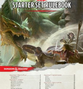 Драконы и подземелья(dungeon dragons starter set)