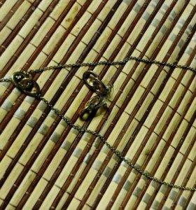 Набор(колье и серьги)