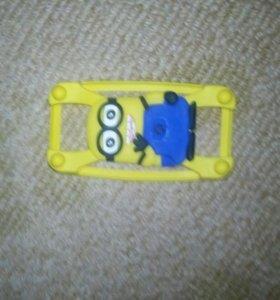 Чехол резиновый на любой смартфон