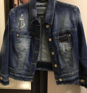 Джинсовый пиджак DSQUARED