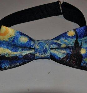 """Бабочка-галстук """"Ван Гог"""""""