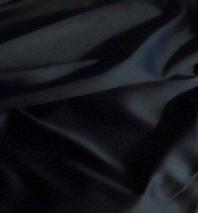 Блэкаут черный матовый для шторы ткань