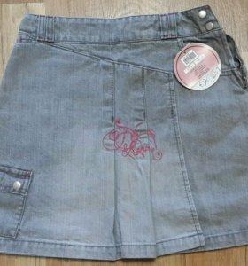 Юбочка для девочки джинсовая