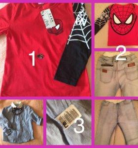 Вещи для мальчика 4-6лет