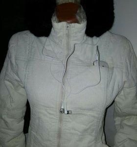Куртка вельвет ( айвори)