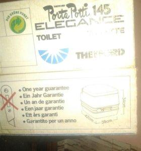 Био туалет (новый)возможен торг.