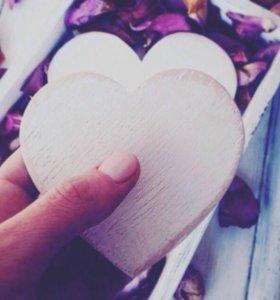 Декор сердечки