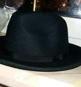Широкополая чёрная шляпа, новая