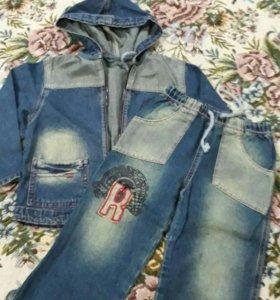 джинсовые костюм