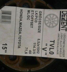 Литые диски r15 крайслер