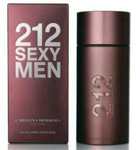 Carolina Herrera 212 Sexy Men, мужской парфюм.