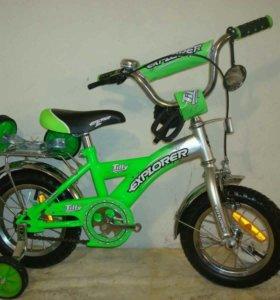 Детский велосипед от 2х-3х лет