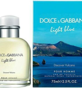 Dolce & Gabbana Light Blue Discover Volcano, мужск