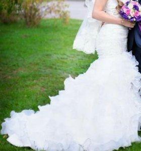 Свадебное платье. Возможен торг.