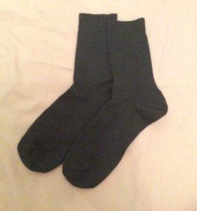 Новые чёрные носки