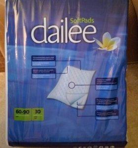 Пеленки 60×90 см, в упаковке 30 штук.