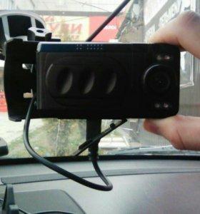 Автомобильный видео регистратор.