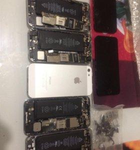 Комплектующие на айфон 5с и 5 s