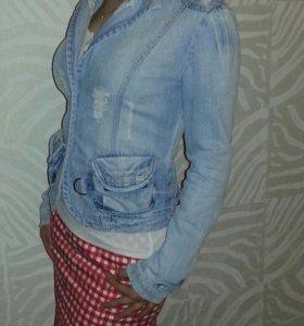 dior джинсовый пиджак