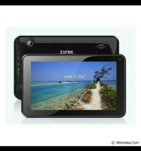 Планшет Zyrex SM746, новый, 7 дюйм,без СИМ