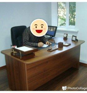 Стол офисный и кресло