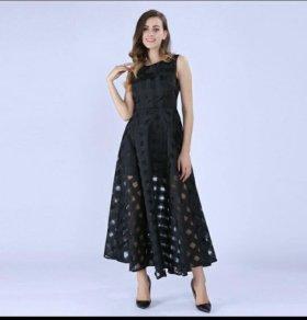 красивое новое платье из огранзы 46-48