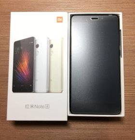 Смартфон Xiaomi Redmi Note 4 3GB/64GB. Black
