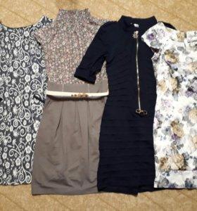 Женские вещи пакетом. Платье, юбка, джинсы, блузка