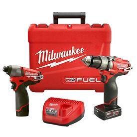 Шуруповерты безщеточные Milwaukee 2597-22 M12 fuel