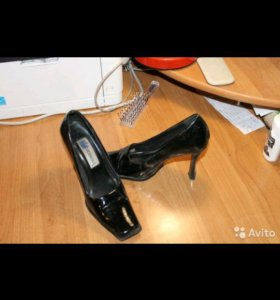 Туфли.замша и кожа 37