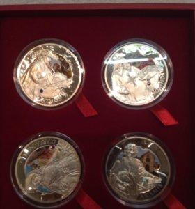 Монеты 3 мушкетера 2009 год