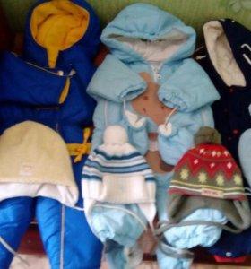 Детские вещи с 6-12 месяцев