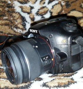 Зеркальный фотоаппарат Sony Alpha SLT-A57