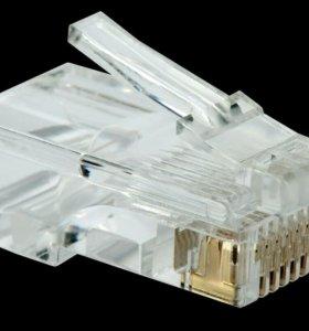 Замена коннектора для интернета RJ-45