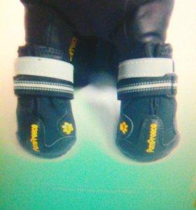 Ботинки для питомца светоотражающие, водонепроница
