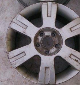 Комплект литых дисков на Форд р16