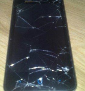 Телефон на запчасти ZTE blade af 3