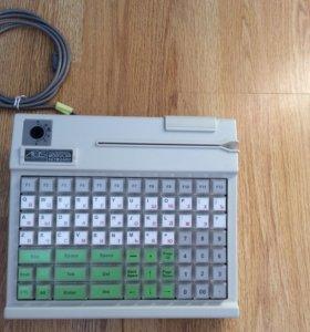 Клавиатура POS PS/2 с ридером