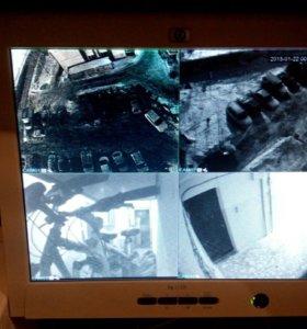 ЖК монитор (для видео наблюдения)