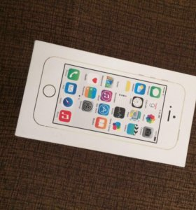 iPhone 5s, gold 16g