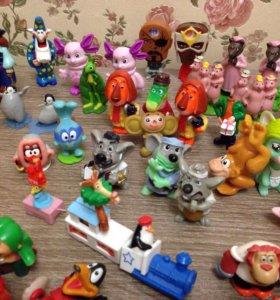 Игрушки от киндер сюрпризов и по.