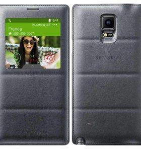 Оригинальный чехол на Samsung galaxy note 4