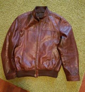 Куртка мужская нат кожа