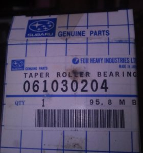 061030204 Subaru - подшипник ступицы передней