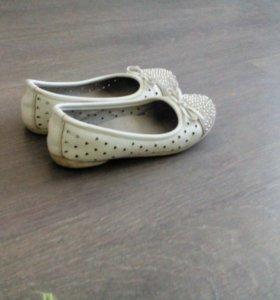 Туфли с бусенками