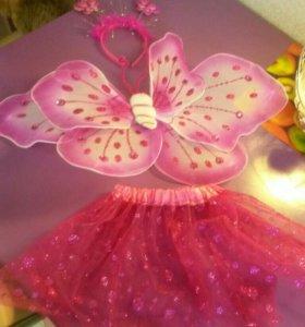 Костюм бабочки.