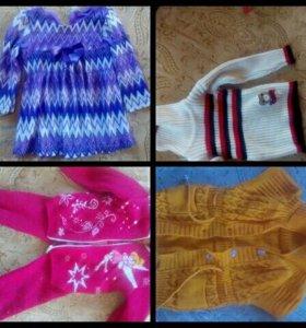 Вещи для девочки 1-2 года
